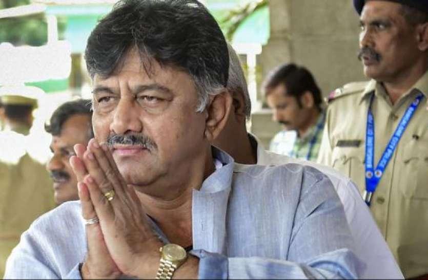 भाजपा के एक मंत्री सरकार से नाराज, हमारे साथ संपर्क में है: डीके शिवकुमार