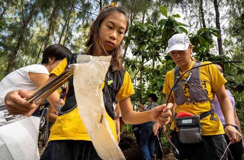 धरती को प्लास्टिक मुक्त करना चाहती है ये किशोरी