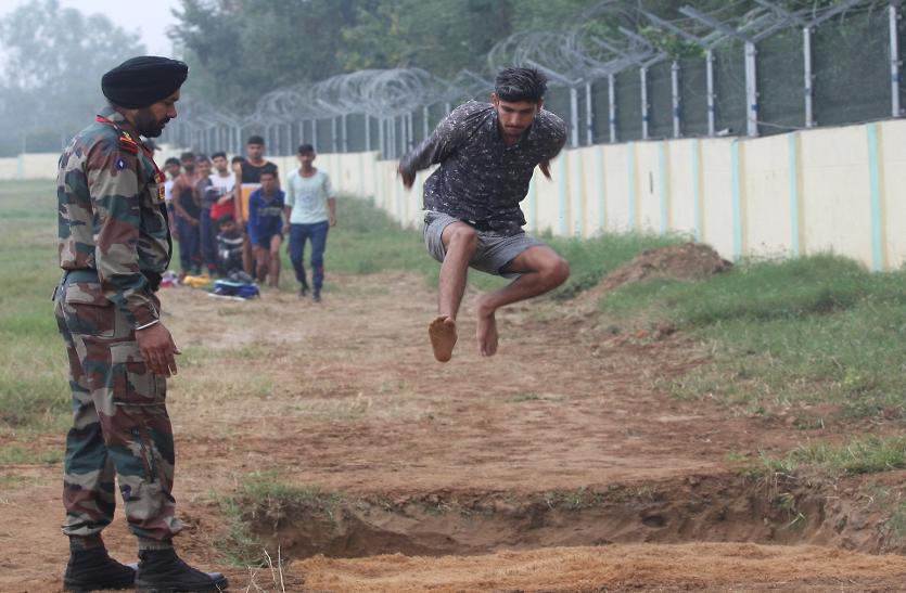 जम्मू-कश्मीर के युवा देंगे आतंक को जवाब, सेना भर्ती में उमड़ी भारी भीड़