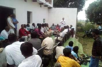 किसानों के साथ धोखा कर रही प्रदेश सरकार: शरदेंदु