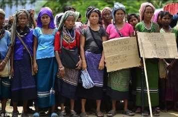 त्रिपुरा के राहत शिविरों में भूख से मरने लगे शरणार्थी