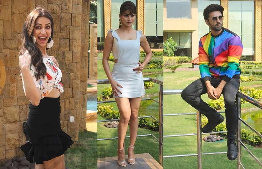 स्टार्स ने मुंबई में किया मूवी प्रमोशन, एक्ट्रेसेस ने की 'पागलपंती'
