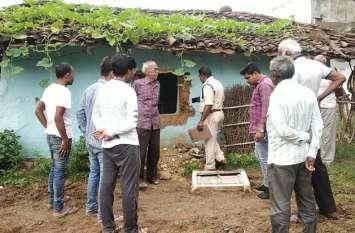 शहर से जुड़े गांव पड़ैनिया में सेंधमारी कर लाखों की चोरी