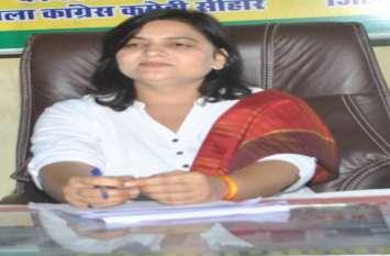 प्रदेश सरकार ने केन्द्र से 6621.28 करोड़ रुपए मांगे, एक भी नहीं मिला : संगीता शर्मा