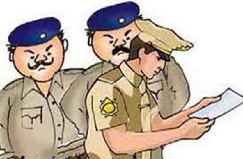 पुलिस को धौंस दिखाने की कीमत चुकाना पड़ी 7800 रुपए