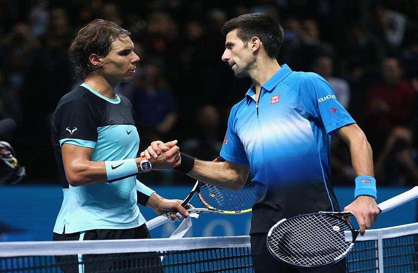 टेनिस रैंकिंग : जोकोविच को पछाड़ राफा शीर्ष पर