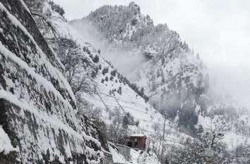 हिमाचल में ओलावृष्टि-बर्फबारी की चेतावनी- कई मार्ग ठप्प