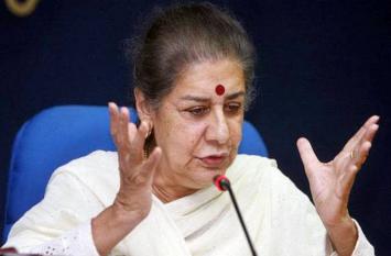 केंद्र सरकार ने किया जम्मू-कश्मीर के साथ धोखा, 15 तक चलेगा कांग्रेस का आंदोलन:अंबिका सोनी