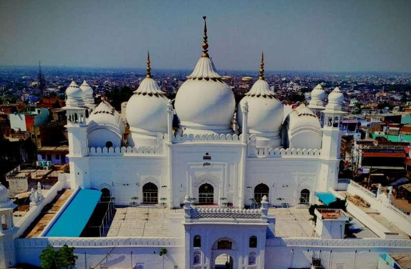 Jama Masjid Aligarh: Story Of Jama Masjid Aligarh Uttar Pradesh - स्वर्ण मंदिर से कई गुना ज्यादा इस मस्जिद में लगा है सोना!   Patrika News