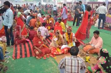 wedding : दस जोड़े बने हमसफर.....देखिए वीडियो