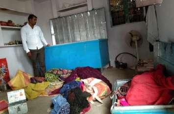 मकान मालिक को कमरे में बंद कर चोरों ने दिया वारदात को अंजाम