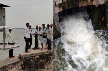 तीन नदियों के संगम पर स्थित मांसी बांध से सिंचाई के लिए नहरों में छोड़ा पानी, 6985 हैक्टेयर जमीन पर रबी की फसल में होगी सिंचाई