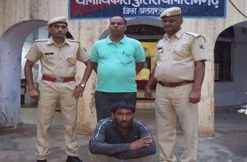 चोरी हुआ ट्रक बरामद, एक गिरफ्तार