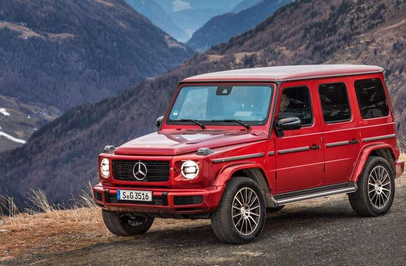 महज 3 हफ्ते में Sold Out Mercedes Benz G 350 D, जानें क्या है खास