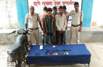 मोबाइल शॉप व मोटर वर्कशॉप से चोरी करने वाले पांच आरोपी गिरफ्तार, तीन नाबालिग भी शामिल