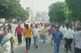 VIDEO: TSRTC कर्मचारियों को पुलिस ने हिरासत में लिया