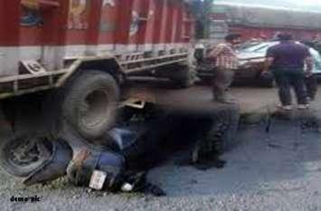जयपुर में दर्दनाक हादसा, ट्रक ने स्कूटी सवार मां-बेटे को मारी टक्कर, बेटे को कुचलता हुए निकल गया ट्रक
