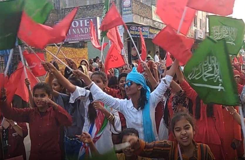 बारावफात पर मुस्लिम समुदाय ने निकाला जुलूस, सामाजिक संगठनों ने किया स्वागत