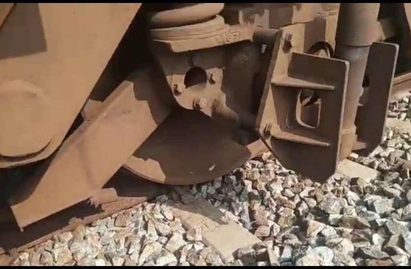 पटरी से उतरा बेंगलूरु-कराइकल पैसेंजर ट्रेन का इंजन