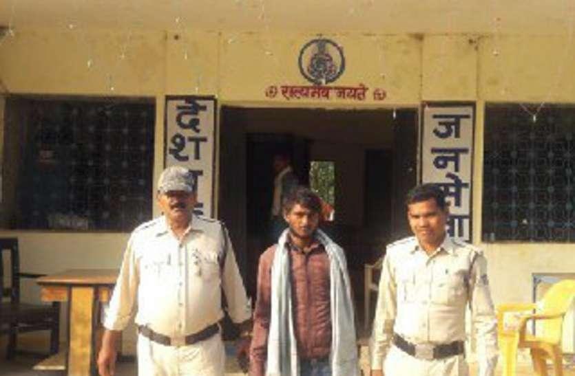 पुलिस अभिरक्षा से हथकड़ी सहित फरार कैदी को पुलिस ने गिरफ्तार