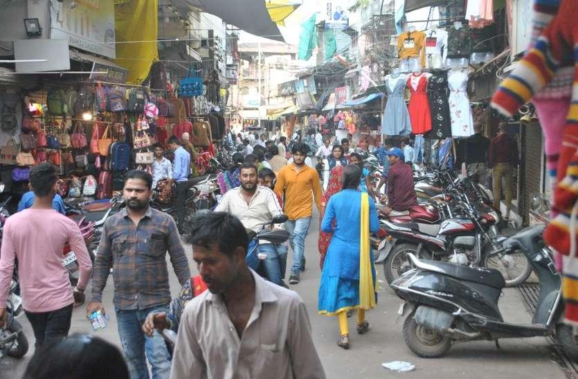 सामान्य की तरफ शहर ने किया रूख, बाजार खुले और सड़क पर चहल-पहल