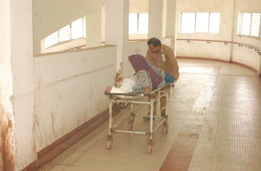 ये है स्वास्थ्य मंत्री के प्रभार जिले के अस्पताल के हाल