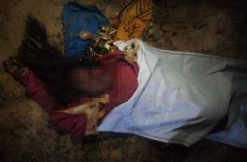 बाजार से घर लौट रही महिला का अचानक रास्ते में मौत से हो गया सामना, कई ने भागकर बचाई जान