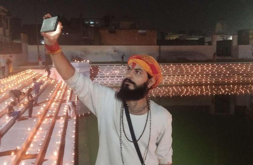 देव दीपावली पर दिखा अयोध्या में सब शांति शांति है