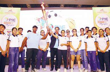 Jaipur पाई स्कूल ओलंपिक्स का दूसरा दिन, खो-खो व बैंडमिंटन के हो रहे मुकाबले