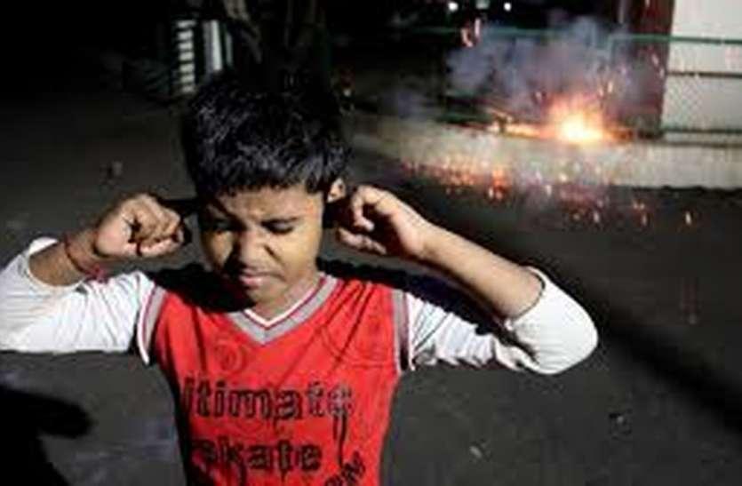 दिवाली ने पकाए' लेकसिटी के कान, आवासीय जोन में ध्वनि प्रदूषण ने फोड़ा नियमों का 'पटाखा