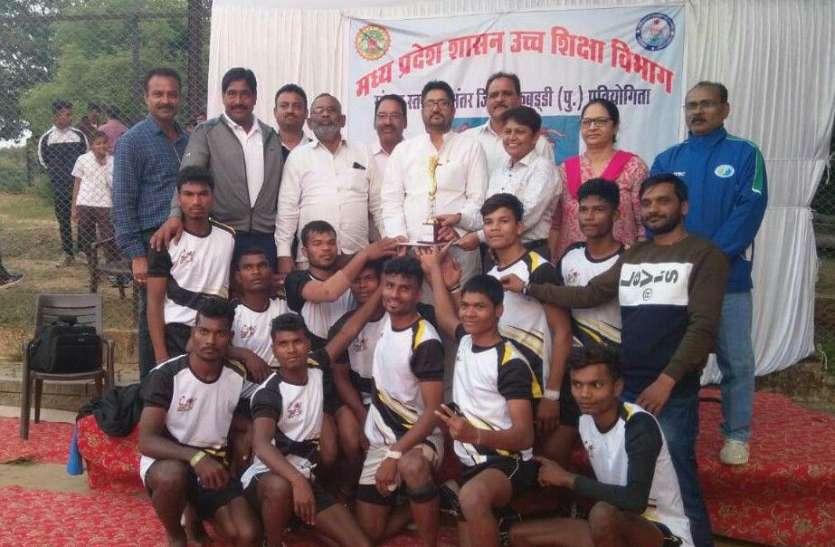 Divisional kabaddi competition News:जबलपुर में छिंदवाड़ा ने जीती संभागस्तरीय कबड्डी स्पर्धा