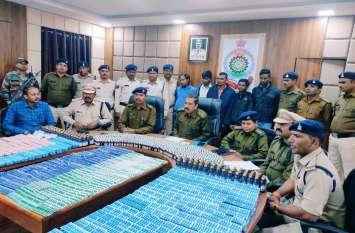 मध्य प्रदेश से ये घातक सामान लाकर छत्तीसगढ़ के युवाओं को बना रहे थे निशाना, 25 लाख के साथ 5 गिरफ्तार