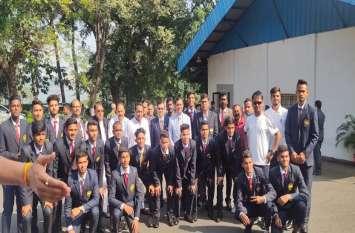 अंडर 18 भारतीय फुटबॉल टीम इंडोनेशिया के लिए रवाना