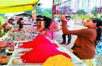 राहतगढ़ वाटरफाल की धार में है भीमसेन की मूर्ति, मेले में ऐसे होती है पूजा