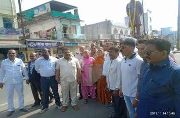 Video News: सज्जन मिल चौराहा पर कांग्रेस कार्यकर्ता हुए एकजुट