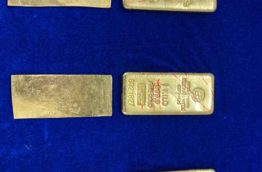 चेन्नई एयरपोर्ट पर विमान के सीट के नीचे मिला तस्करी कर लाया गया 1.3 करोड़ का सोना, जब्त