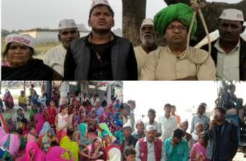 Trans Ganga Hi-tech City विवाद पहुंचा खतरनाक मोड़ पर - पेड़ में बनाया फांसी का फंदा और दी चेतावनी