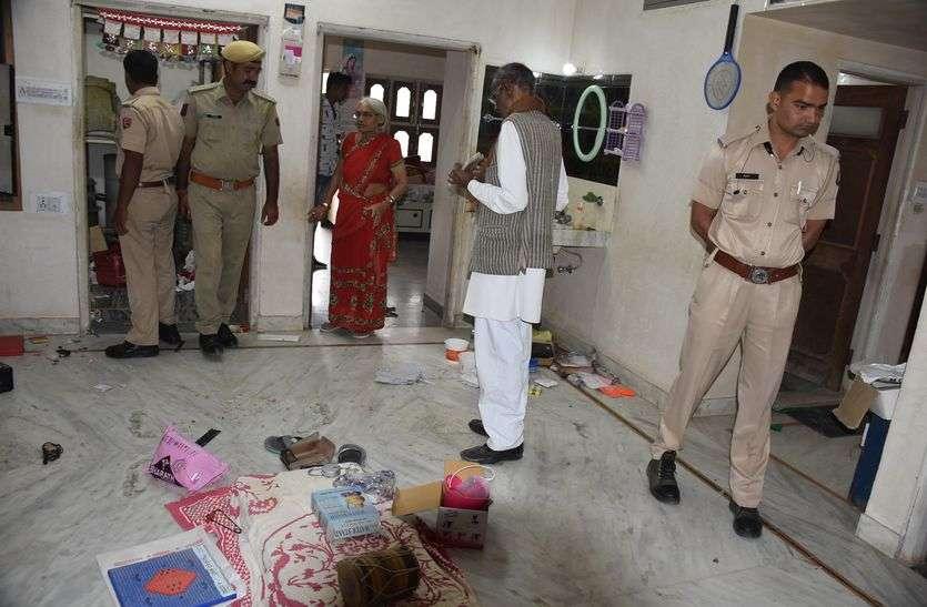 crime : सूने मकान में चोरों ने दिखाए हाथ, नकदी, चांदी और वाहन चोरी