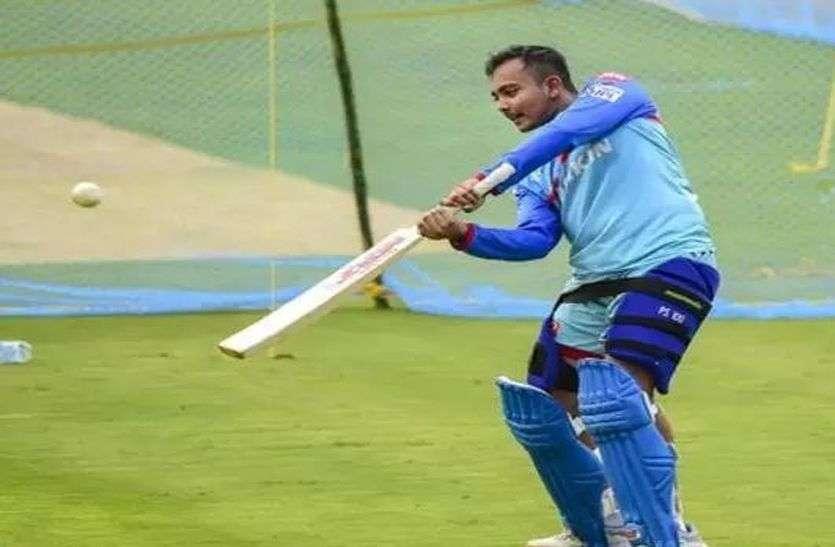 प्रतिबंध खत्म होते ही पृथ्वी शॉ की हुई मुंबई टीम में वापसी, सैयद मुश्ताक अली टूर्नामेंट में खेलेंगे