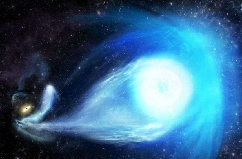 1700 किमी प्रति सेकंड की गति से मिल्की-वे से बाहर निकल रहा तारा