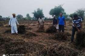 बिगड़े मौसम ने किसानों के अरमानों पर फिरा पानी