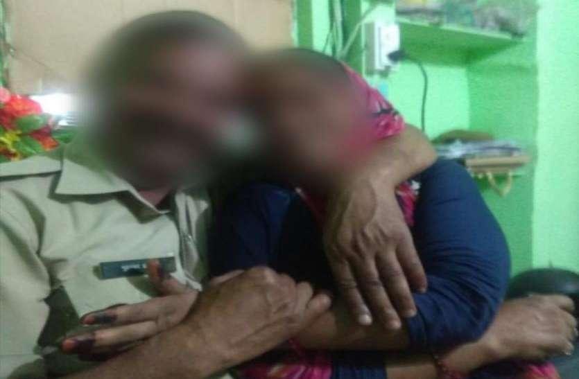 महिला के साथ यूपी पुलिस में तैनात कांस्टेबल के ऐसे फोटो हुए वायरल, विभाग में मची खलबली
