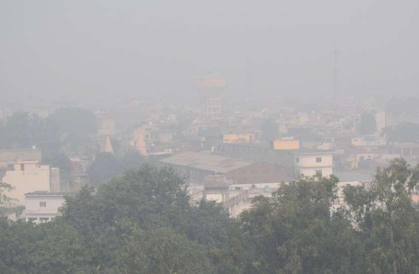 पराली के धुएं से दूसरे दिन भी नहीं मिली राहत