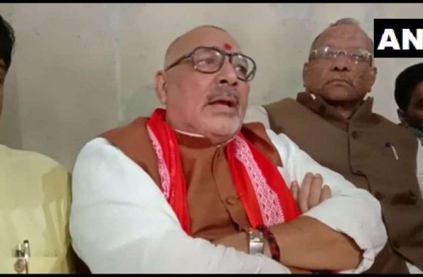 केंद्रीय मंत्री गिरिराज सिंह का बड़ा खुलासा, यह कानून आने पर ले लेंगे राजनीति से संन्यास