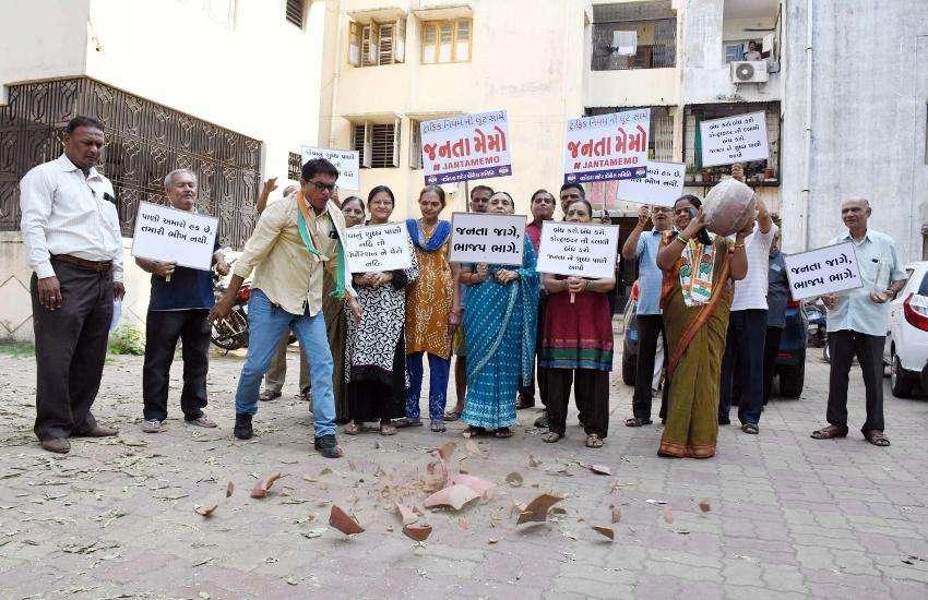 Problem of polluted water in Vadodara