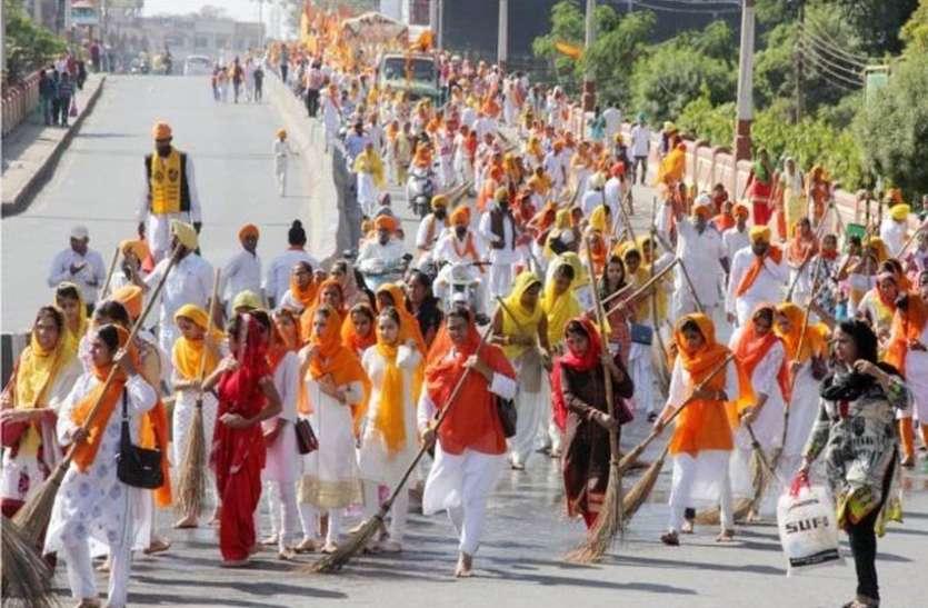 श्री गुरुनानक देव महाराज के 550वें प्रकाश पर्व पर विशाल नगर कीर्तन आज