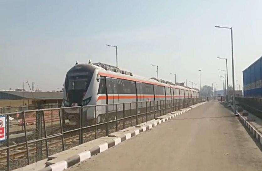 Metro rail दौड़ेगी मोटेरा से mahtma mandir तक