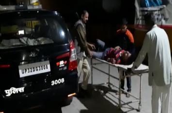 तेज रफ्तार रोडवेज बस ने बाइक सवार चाचा-भतीजे को कुचला, दोनों की हालत गंभीर- देखें वीडियो