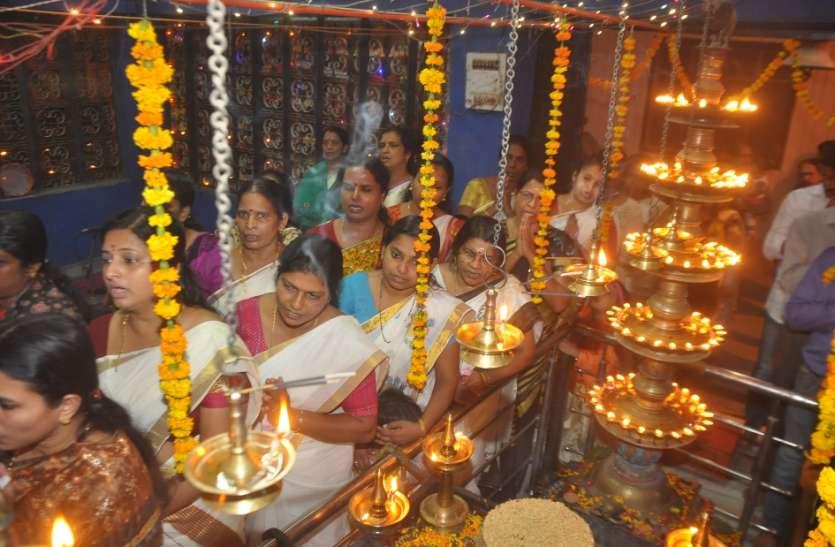 भगवान गणेश की पूजा के बाद अयप्पा स्वामी की हुई महाआरती