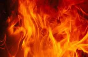केमिकल कंपनी में लगी भीषण आग, तीन घंटे बाद काबू पाया